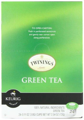 Twinings Thé Vert, 24-Count K-Cup de Keurig pour les brasseurs