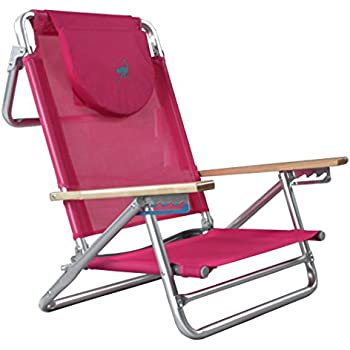 Amazon Com Ostrich 3 In 1 Chair Pink Folding Chairs