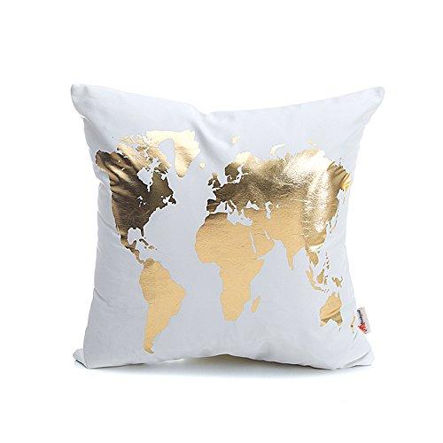 Monkeysell Bronzing Flannelette Pillowcases Geometry