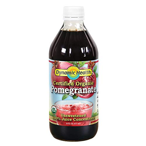 Dynamic Health Concentrate, Pomegranate, 16-Ounce (Dynamic Health Cranberry Juice Concentrate 16 Oz)