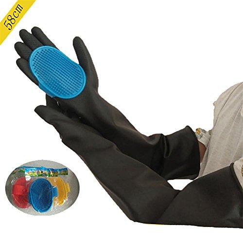 DAN DEFENCES Animal Handling Gloves,Scratch/Bite Resistant G