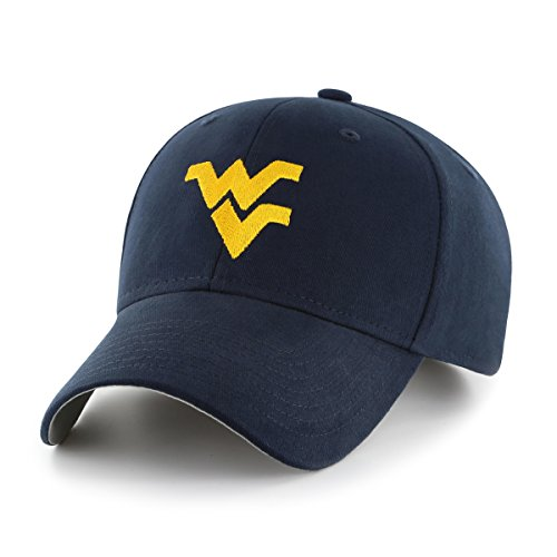 (NCAA West Virginia Mountaineers Children Cinch Ots All-Star MVP Adjustable Hat, Kids, Navy)
