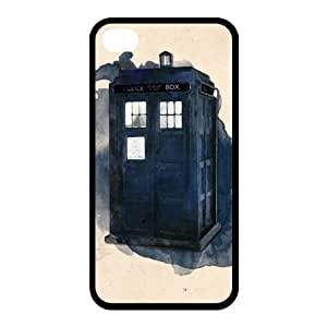Customized iPhone Case Doctor Who Tv Show Printed Durable RUBBER iPhone 4 4S Case Cover by runtopwell