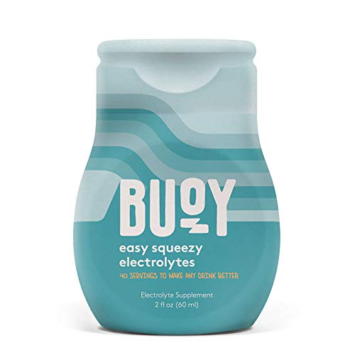 Buoy | All Natural Electrolytes | Keto, Immunity, Exercise | 40 Servings | No Sugar, No Calories | Easy Squeezy Drops | Make Any Drink More Hydrating | Coffee, Beer, Wine, Water, Shakes, Tea