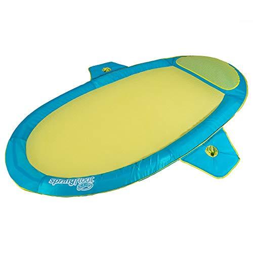 SwimWays 6047203 Spring Float Suncatcher, Dark Blue/Light Blue