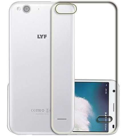 Marely Hudson Transparent Soft Back Case Cover For Reliance Jio LYF Water 2