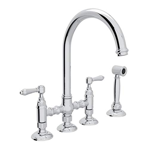 (ROHL A1461LMWSAPC-2 KITCHEN FAUCETS Polished Chrome)