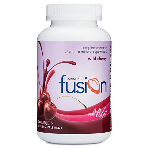- Bariatric Fusion Complete Chewable Multivitamin and Mineral Supplement Wild Cherry 120 Tablets for Gastric Bypass and Sleeve Gastrectomy