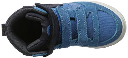 Hummel Stadil 50fifty Canvas Jr, Zapatillas Altas Unisex Niños Azul (Cendre Blue)