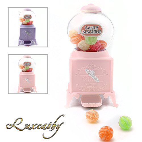 Luxcathy Gumball Bank Candy Dispenser Vending Machine for Pa