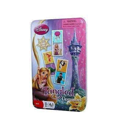 人気ブランドを Disney Tangled Tangled Dominoes Disney Set & Storage Tin B0784NYSN6 [並行輸入品] B0784NYSN6, 明日香村:bacb0185 --- arianechie.dominiotemporario.com