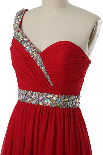 One Prom Party Formal Homecoming MACloth Shoulder Gown Zartrosa Gorgeous Short Dress IAqqB5xw