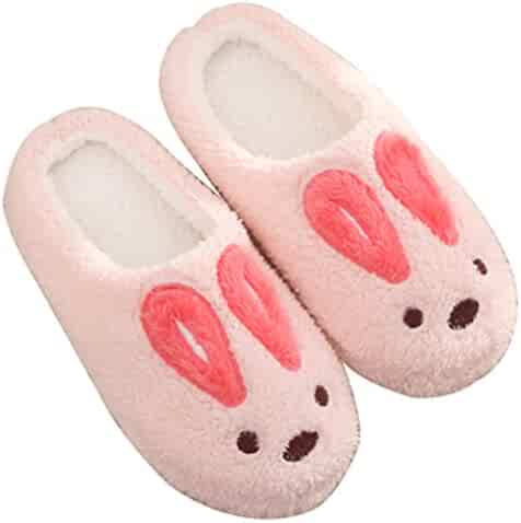 aa4bd9f2593 Blubi Women s Winter Piggy Skid-proof Closed Toe House Shoes Ladies  Slippers Cute Slippers. seller  Blubi. (2). Blubi Women s Warm Novelty  Slippers Classic ...