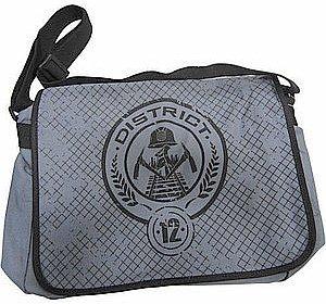 Amazon.com: The Hunger Games District 12 Seal Messenger Bag ...