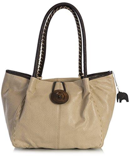 One Shop BHSL Beige a Big donna Medium Handbag Borsa spalla RqTOfZF
