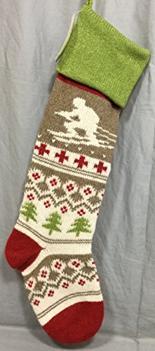 Pottery Barn Kids Skier Classic Fair Isle Stocking