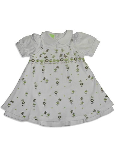 Snopea - Baby Girls Smock Jumper Dress Set