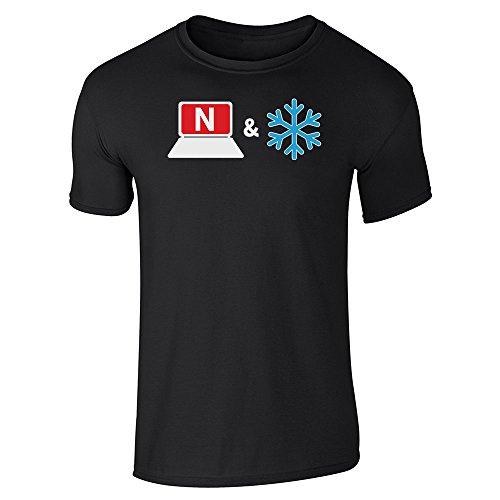Pop Threads Netflix And Chill Short Sleeve T-Shirt