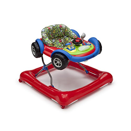 Delta Children Lil' Drive Red Plastic Baby Activity