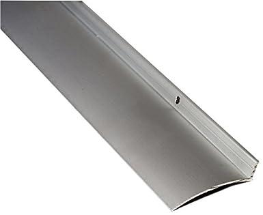 National Guard 16A40 NGP Aluminum Overhead Door Rain Drip Cap, Clear  Anodized, 40u0026quot;
