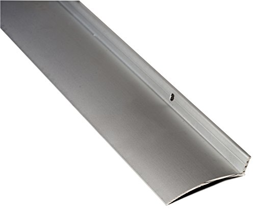 National Guard 16A40 NGP Aluminum Overhead Door Rain Drip Cap, Clear Anodized, 40