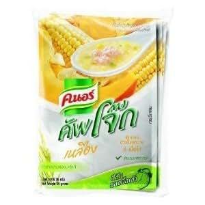 Amazon.com : Congee Corn Chicken Pumpkin 35g Knorr Cup Jok