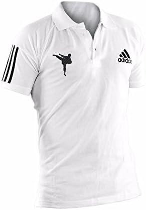 adidas - Polo de karate, talla XL, color blanco: Amazon.es ...