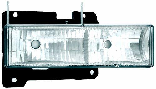 IPCW CWS-330 Crystal Clear Diamond Cut Headlight - Pair (Headlamps Crystal Diamond Cut)