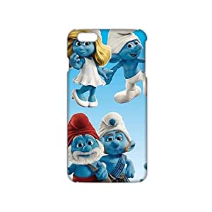 Evil-Store Charming The Smurfs 3D Phone Case for iPhone 6