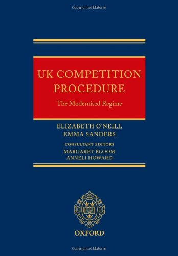 UK Competition Procedure: The Modernised Regime by Oxford University Press