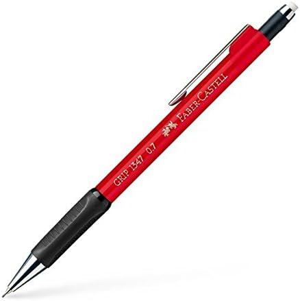 color rojo Faber-Castell 134726 Grip Portaminas 0,7 mm de grosor