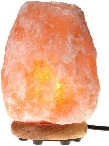 Himalayan Glow 1002 Himalayan Pink Salt Lamp with ETL-Certified New Dimmer Switch, 25W, 9 inches (7-11 lbs.)