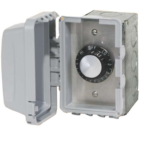 Infratech 14 4210 Accessory - 240 Volt Single Reg with Flush Mount and Gang Box, Patio Heater Regulator (Heating Infratech)