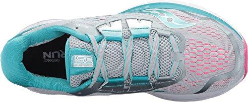 Image of Saucony Women's Zealot ISO 3 Running Shoe, Grey Blue, 9 Medium US