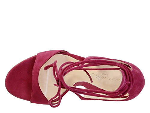 enjoy online pay with visa cheap online Gianvito Rossi high heel sandals in Fuchsia suede leather - Model number: G60586 15RIC CAMFLAM Fuchsia xk43Ue