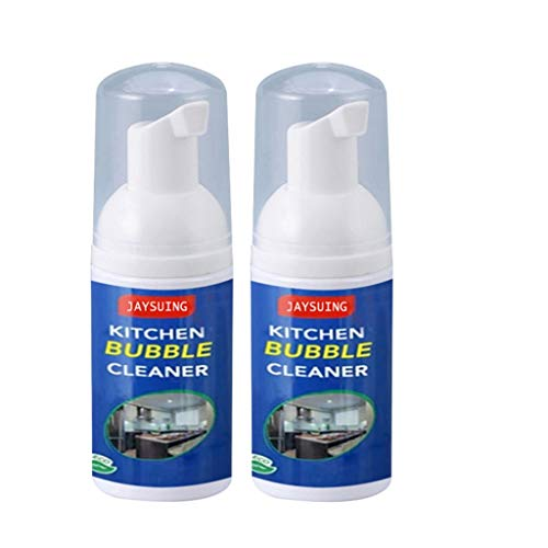 JonerytimeAll-Purpose Cleaning Bubble Spray Multi-Purpose Foam Kitchen Grease Cleaner (2pc 30ml) from Jonerytime_ Home & Garden