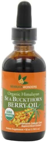 Sea Buckthorn Berry Oil - 100% Certified Organic, 1.76-Ounces Bottle