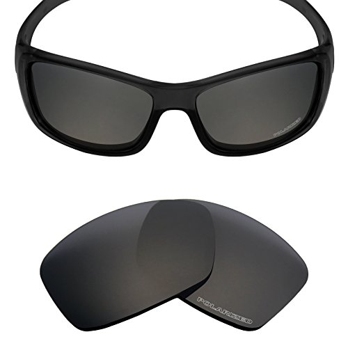 Mryok+ Polarized Replacement Lenses for Oakley Hijinx - Stealth - Replacement Oakley Lens Hijinx