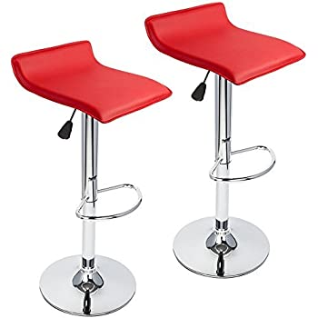 Amazon.com: Roundhill Furniture Contemporary Chrome Air