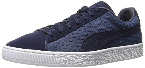 Puma Mens Suede Classic Emboss v2 Fashion Sneaker, Piloto, 46 D(M) EU/11 D(M) UK