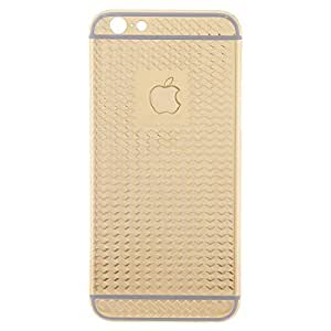 iPhone 6 24K Gold Plated Fashion Back Cover - Gold