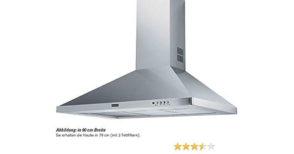 Franke FDL 764 XS - Campana Decorativa DEco 70 Fdl764Xs Con 3 Velocidades: Amazon.es: Grandes electrodomésticos