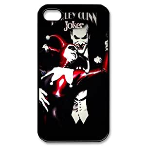 Popular Joker And Harley Quinn Batman New Style Durable Iphone 4,4s Case Hard iPhone Cover Case E04