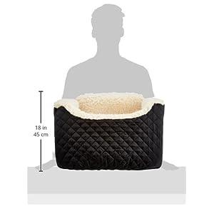 "Pet Car Seat - Lookout I Medium (Black) (22""W)"