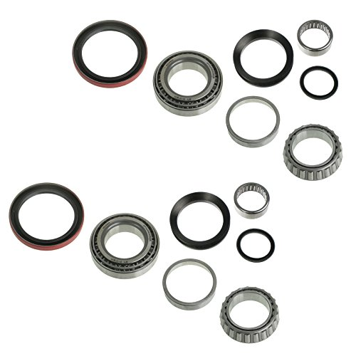 Front Spindle & Wheel Bearing Repair Kit Set for Blazer Truck Suburban - Repair Axle Front