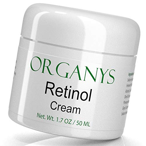 (Organys Retinol Cream with Hyaluronic Acid & Aloe Vera. Anti Aging Face & Eye Moisturizer For Wrinkles, Uneven Tone, Fine Lines & Acne Scars. A Natural Best Selling Anti Wrinkle Cream For Day & Night )