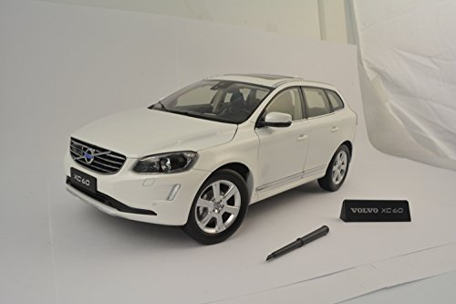 2015 Volvo XC60 Crystal White Pearl 1/18 by Ultimate Diecast 88201