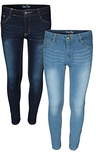 354ccc43782f0 Real Love Girls Skinny Jeans, Flap Pocket (2 Pack) Size 7'