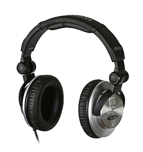Ultrasone HFI-780 S-Logic Surround Sound Professional Closed-back Headphones with Transport Bag