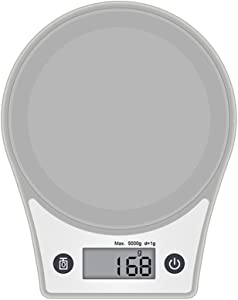 Luoying Baking Kitchen Electronic Scales Electronic Scales Electronic Weighing Scales, Said Chinese Household Food Scale Grams, Said Portable Jewelry,Gray